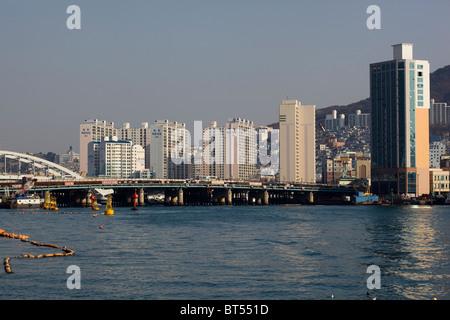 Busan South Korea - Stock Image