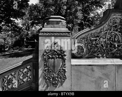 Historical architectural details, Central Park, New York City. - Stock-Bilder