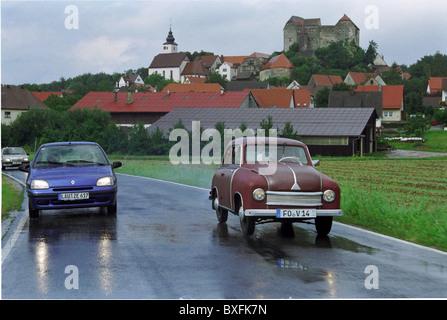 transport / transportation, car, vehicle variants, Lloyd 300, year of construction 1952, made by Lloyd Motoren Werke, - Stock Image