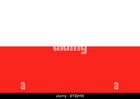 Poland flag illustration - Stock-Bilder