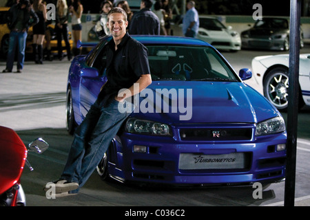 PAUL WALKER FAST & FURIOUS; THE FAST AND THE FURIOUS 4 (2009) - Stock Image