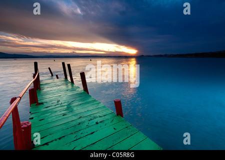 Bay of Santander (Northern Spain) - Stock-Bilder