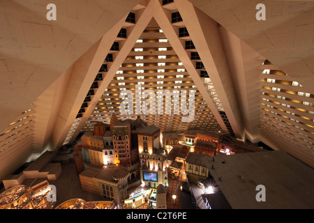 Las Vegas Pyramid Hotel Room Balconies