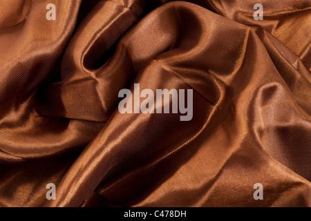 Brown Silk for background - Stock-Bilder