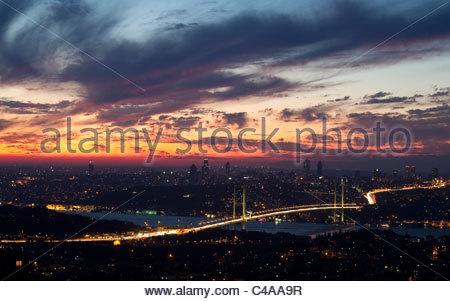Bosporus Bridge - Stock Image