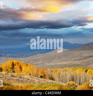 autumn in Sierra Nevade - Stock-Bilder
