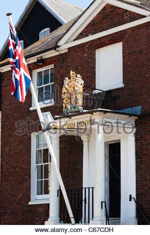 Entrance To The Custom House Now A Bar And Restaurant Poole Dorset