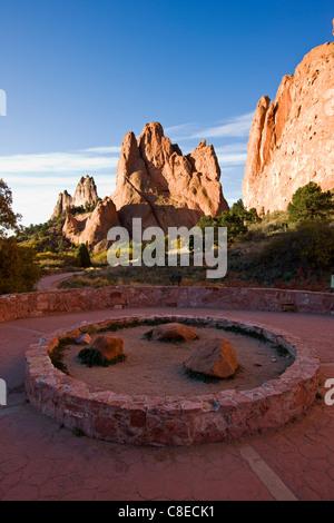 Garden Of The Gods Park Colorado Stock Photos Garden Of The Gods Park Colorado Stock Images