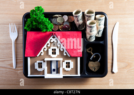 Concept of home ownership - Stock-Bilder