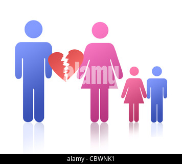 Divorcing - Stock-Bilder