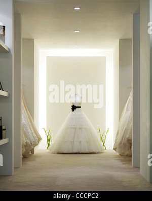 VERA WANG WEDDING SHOP SHOP INTERIOR - Stock Image