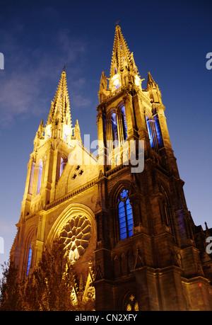 Saint Louis church, Bordeaux, France - Stock Image