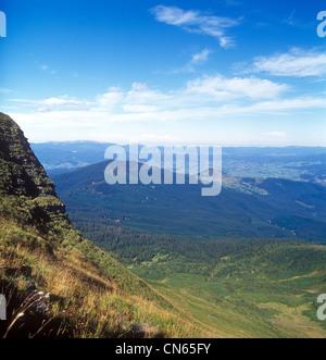 Mountain landscape. - Stock Image
