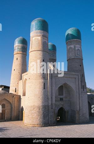 UZBEKISTAN, Bukhara. MADRAS MINOR CHOR (XIX Century) - Stock Image