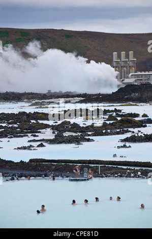 Blue Lagoon Resort, Svartsengi, Iceland, Polar Regions - Stock-Bilder