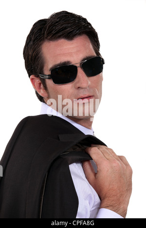 Black Blazer Sunglasses Stock Photos & Black Blazer ...