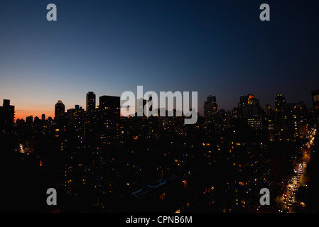 USA, New York, New York City at night - Stock-Bilder