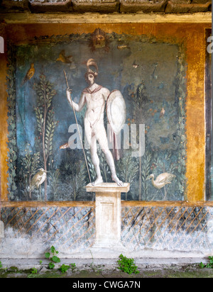 God mars stock photos god mars stock images alamy for Ancient roman mural