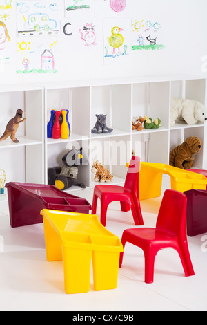 Schedule in addition Classroom cartoon together with Yellow And Orange Dining Room Interior Design Table Chairs besides Plastic Chair Furniture Fancy in addition Empty Kindergarten Classroom. on kindergarten table and chairs