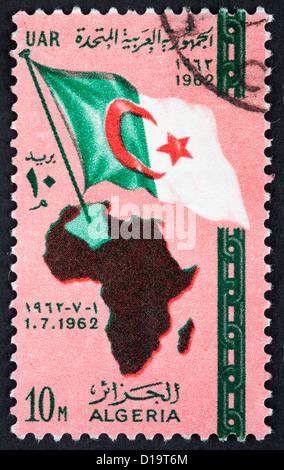 Algeria postage stamp - Stock Image