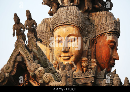 Wood Carving Faces Stock Photos & Wood Carving Faces Stock ...