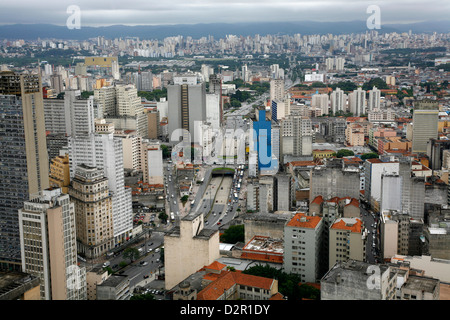 Skyline of Sao Paulo, Brazil, South America - Stock Image