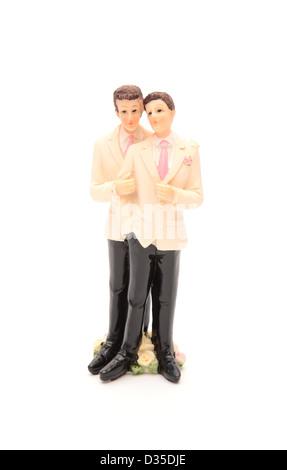 A homosexual couple - Stock-Bilder