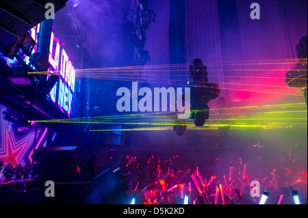 Neon Lights Dance Stock Photos & Neon Lights Dance Stock ...
