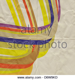 abstract paper graphic - Stock-Bilder