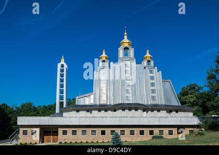 Ukrainian Catholic National Shrine of the Holy Family, Washington DC, USA - Stock-Bilder