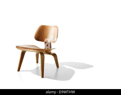 Chair on white - Stock-Bilder