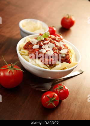 Pasta bowl - Stock Image