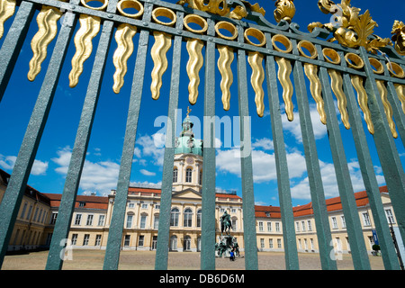 Schloss Charlottenburg in Berlin Germany - Stock Image