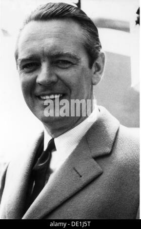 Beitz Berthold 26.3.1913 - 30.7.2013 German industrialist portrait 1961 20th century 1960s 60s Krupp businessman - Stock Image