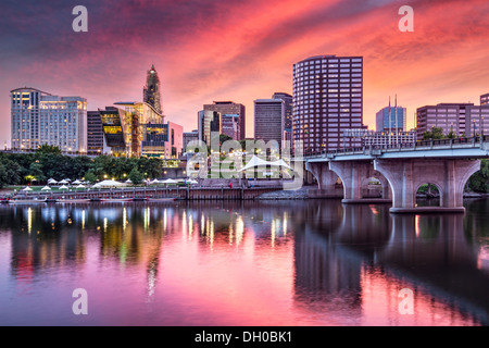 Hartford, Connecticut, USA. - Stock-Bilder