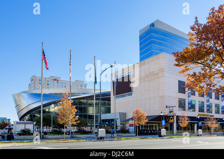 Nascar Hall of Fame, Charlotte, North Carolina, USA - Stock Image