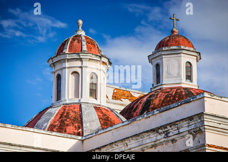 Cathedral of San Juan Bautista in San Jaun, Puerto Rico. - Stock Image