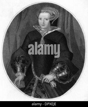 LADY MARY SIDNEY - Stock Image