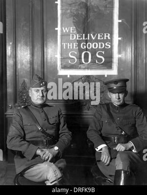 General Harbord and General Dawes, Paris - Stock Image