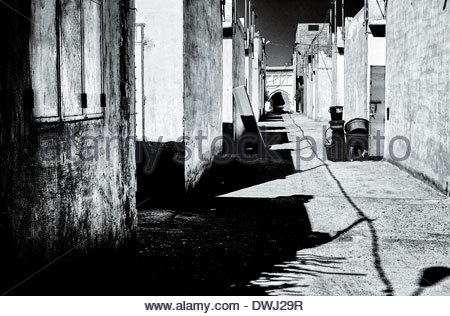 Street scene, Marrakech, Morocco, North Africa. - Stock Image