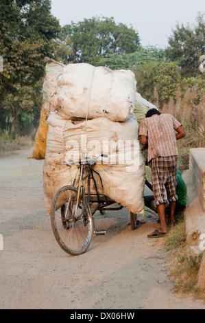 Indian Rural Working - Stock Image