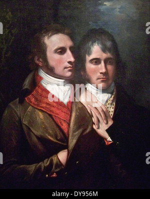 Benjamin West Raphael West and Benjamin West, Jr., Sons of the Artist - Stock Image