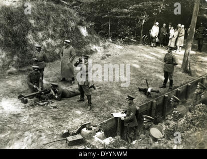Gunnery training at the Reichswehr, around 1930 - Stock Image