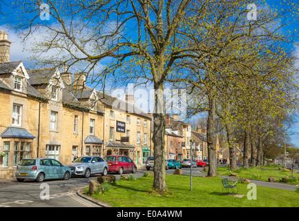 Moreton in Marsh Moreton-in-Marsh High Street Cotswolds Gloucestershire England UK EU Europe - Stock-Bilder
