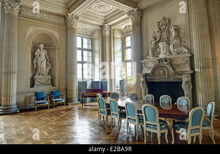 France, Yvelines, Maisons Laffitte, castle of Maisons, the Mirrors ...