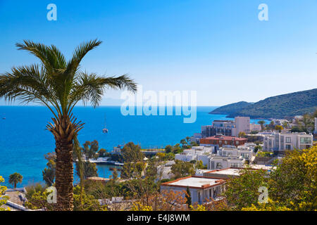 Bodrum town, Turkey - Stock Image