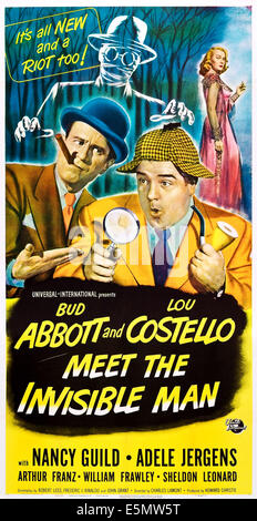 bud abbott and lou costello meet the invisible man images