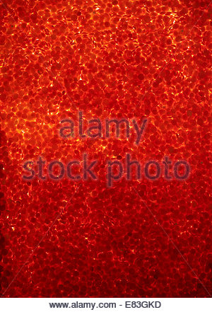 Background with red lentils - Stock Image