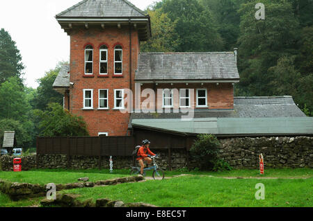 Ramblers Retreat Cafe at Dimmingsdale, Alton, Staffordshire - Stock Image