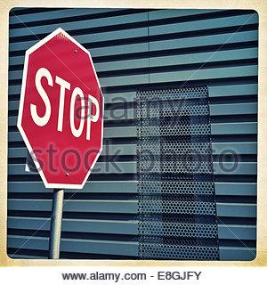 Stop sign - Stock-Bilder
